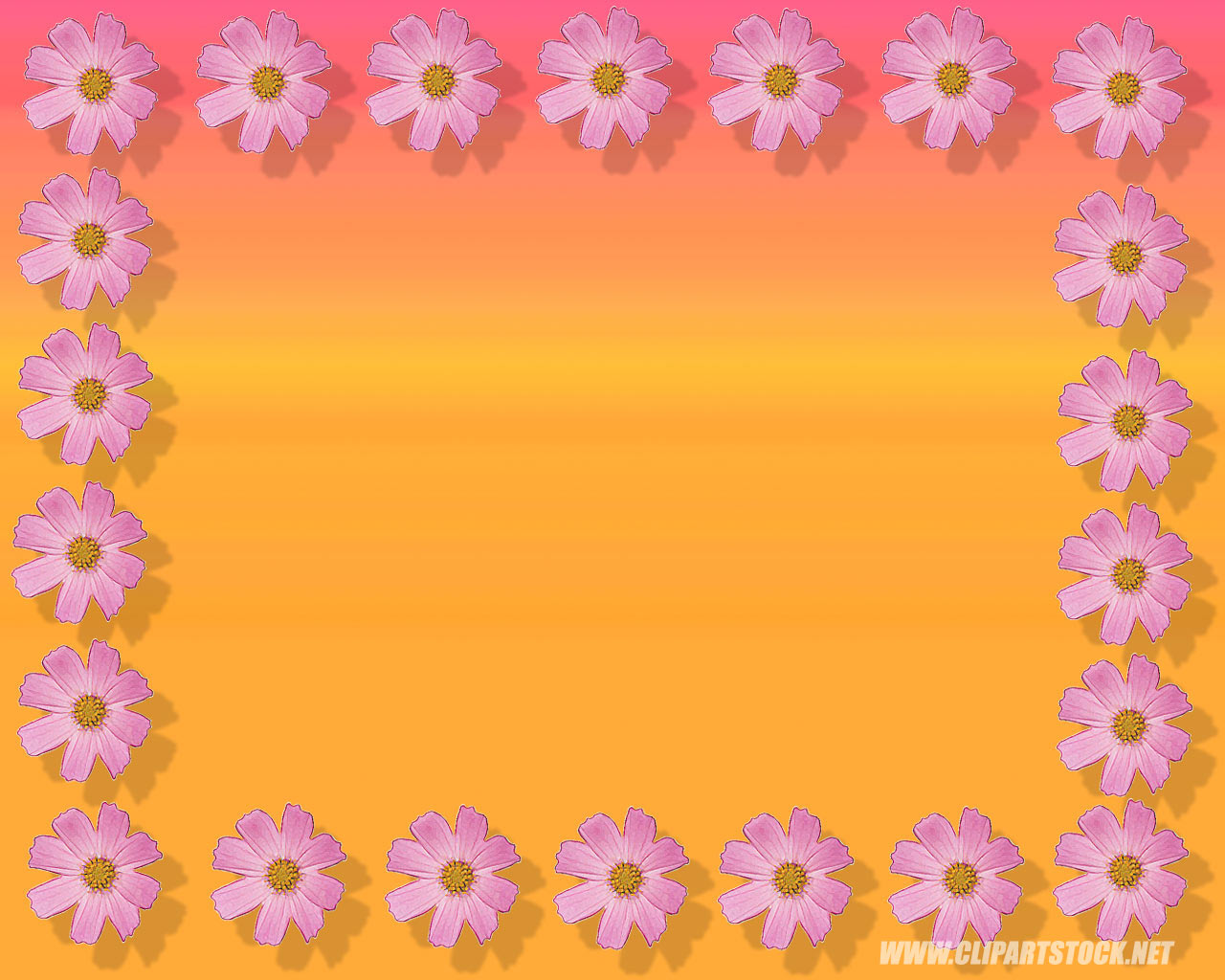 Mothers Day Flower Background And Borders Background Desktops Pics