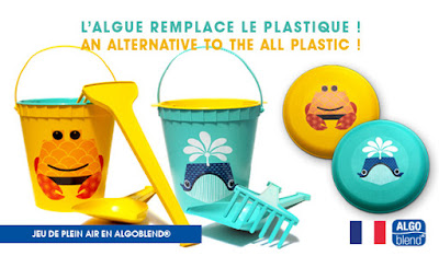 Une alternative au plastique: Algoblend