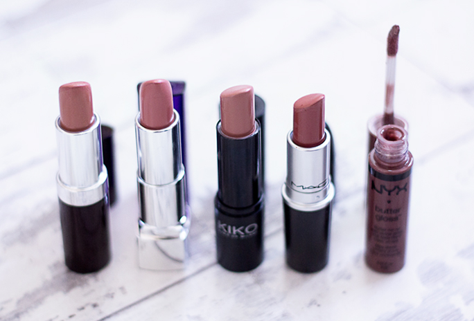 Beauty | Favourite Nude Lip Colours