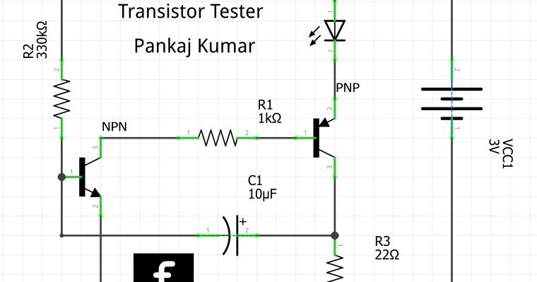 Basic Electronics Project: Transistor Tester