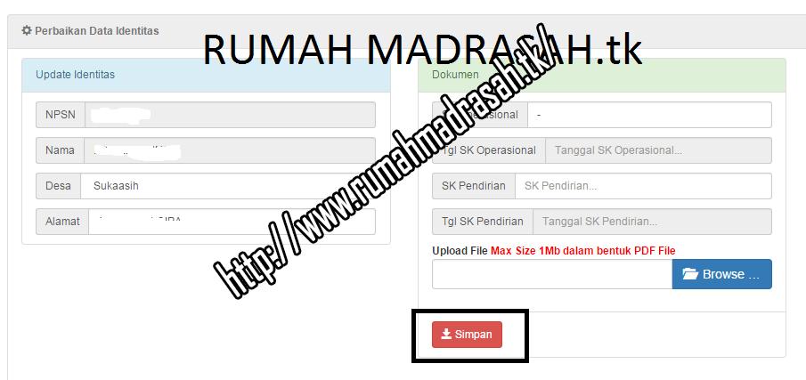 Salam sejahtera bagi semua sobat Rumah Madrasah Sudahkah Sekolah anda Verval NPSN ??? Silahkan Lihat Cara Verval NPSN di http://sdm.data.kemdikbud.go.id/