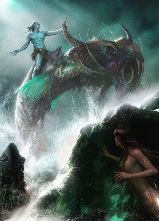 Yin Yuming deviantart ilustrações fantasia games