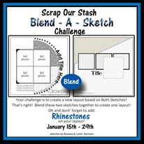 January Blend a Sketch Challenge