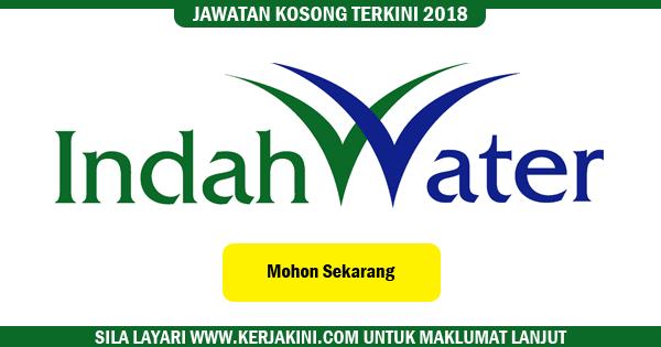 jawatan kosong indah water 2018
