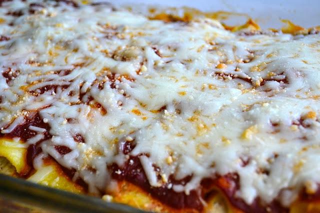 Crepe Manicotti | www.motherthyme.com