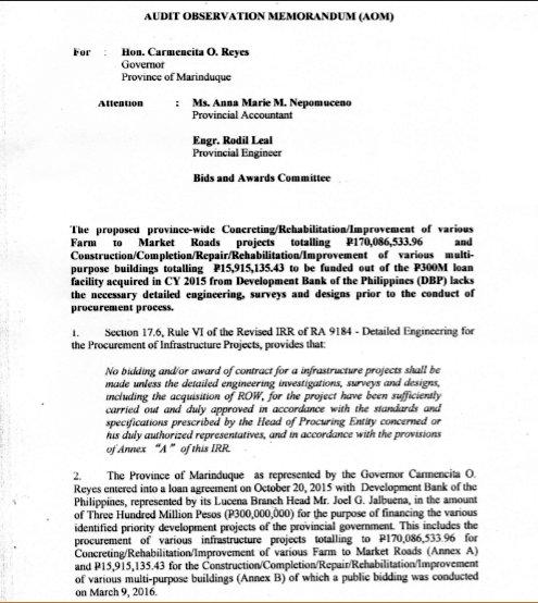 New! Kapitolyo De Marinduque: Pagkagumon Sa Katiwalian