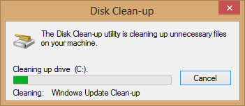 Windows Clean up without an software 7