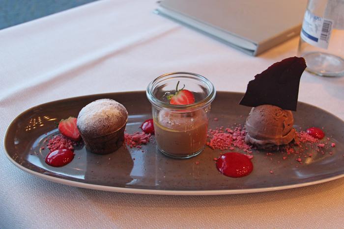 Dessert Schoko Bash - La Vie, Schwarzwald Panorama