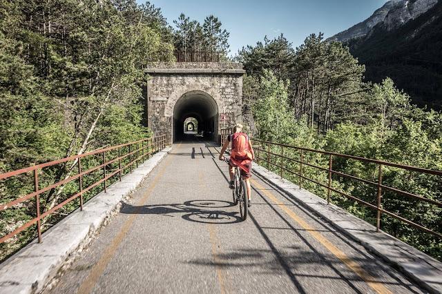 MTB - Monte Brizzia Resiutta Mountainbike Tour Udine/Friaul