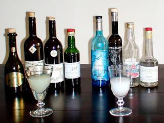 absinth bottles