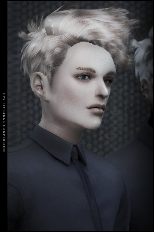 My Sims 4 Blog Ts3 Ep 9 Hair Conversion For Males By Blackle