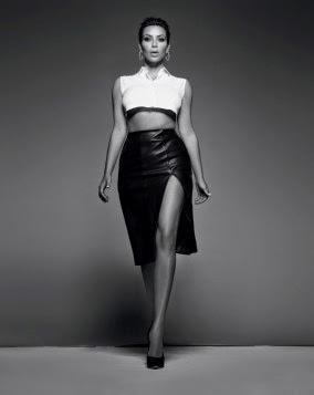 Kim Kardashian Hot Photoshoot for Elle India February 2015