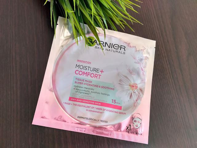 Garnier hydratačná textilná maska
