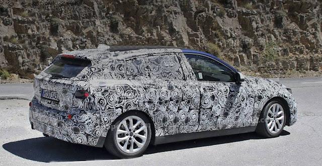 2019 BMW 1-Series Hatchback spy shots
