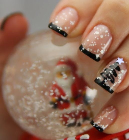 Attractive Christmas and New Year's Eve Nail Art Designs That Will Leave You Breathless