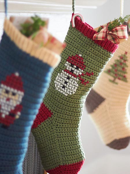 Free Christmas Stocking Crochet Patterns