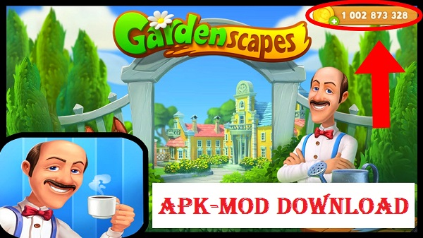 Download Gardenscapes New Acres Mod APK Unlimited Gold Money