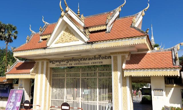 Choeung Ek Genocidal Center Killing Fields Phnom Penh History Cambodia
