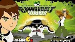Ben 10 Cannonbolt Strikes