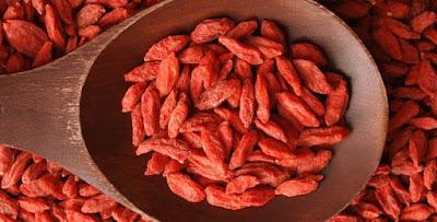 Goji Well são uma boa fonte de vitaminas e minerais