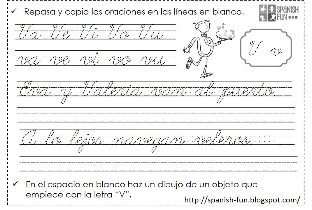 Tareas de Kindergarten