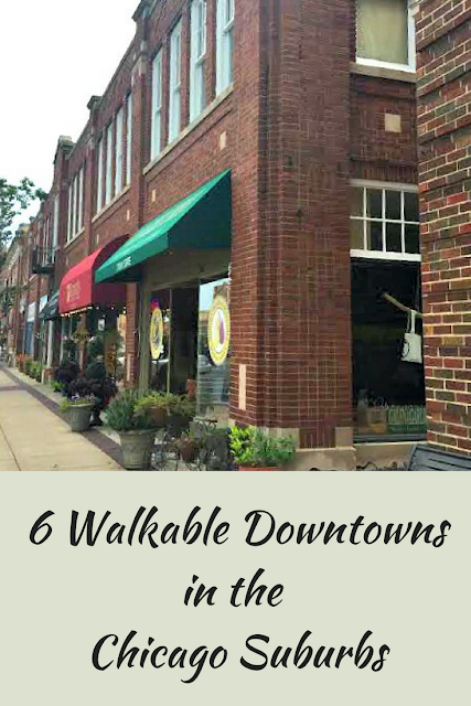 6 Walkable Downtowns in the  Chicago Suburbs