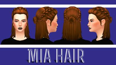 Причёски симс 4 максис