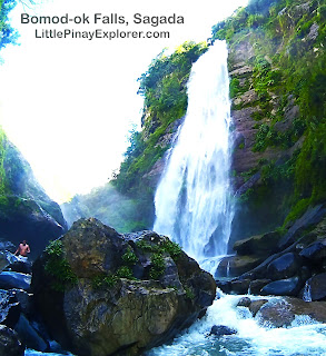 Bomod-ok falls sagada, little pinay explorer, trek in sagada, sagada blog, little pinay explorer