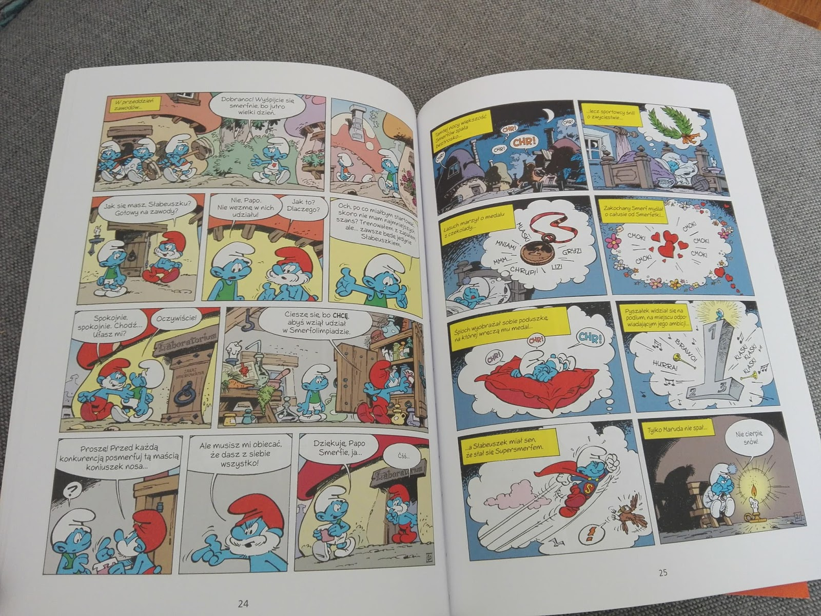 komiks o smerfach
