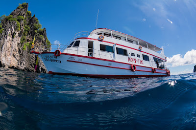 Photo of the dive boat of Kon Tiki Diving Center