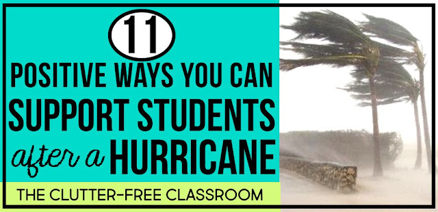 Click through for ways to help children cope after a hurricane, or other natural disaster, identify ways kids can help others, and provide a collection of ways teachers can support their students after traumatic events.