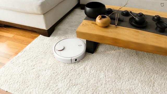 مكنسة الربوت MI Robot Vacuum المقدمة من شركة XIAOMI