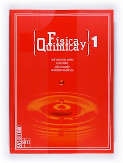 Libro Física y Química 1º Bachillerato SM