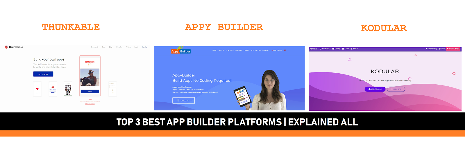 Make your App in easy steps and earn money[ Top App builder