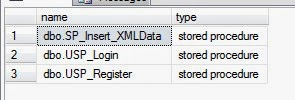 How to Get List of Stored Procedures based on table name search, using sql server 2008?
