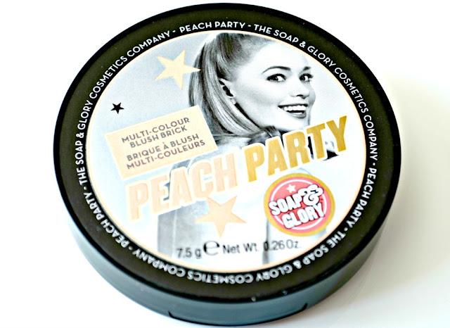 Soap & Glory 'Peach Party' Multi-Colour Blush Brick