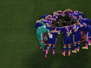 サッカー女子W杯 日本対スイス
