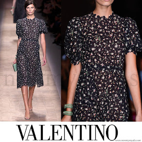 Princess Mette-Marit wore Valentino Dress Spring 2013 Ready-to-Wear
