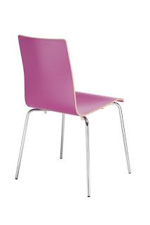 Scaun  de bucatarie Cafe VII roz