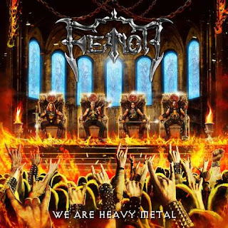 "Feanor - The Discipline Of Steel (lyric video from ""We Are Heavy Metal"" album)"