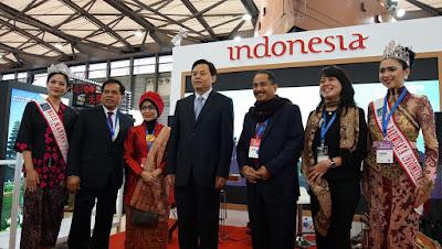 Menteri Pariwisata Hadir&Yakinkan Wisman Di Pameran Pariwisata Tiongkok