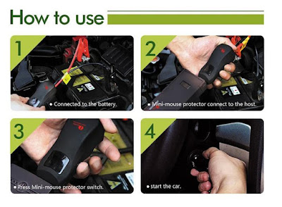 How-To-Use-Portable-Car-Jump-Starter-Power-Bank-instructions