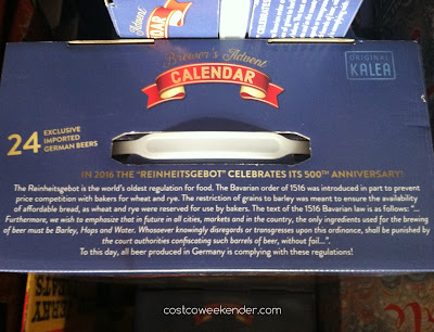 Brewer's Advent Calendar - a variety pack of 24 German beers