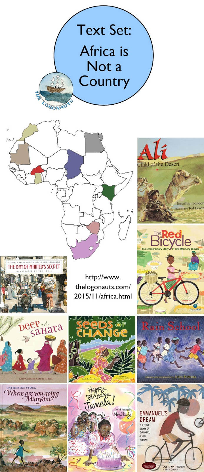 text set africa is not a country the logonauts
