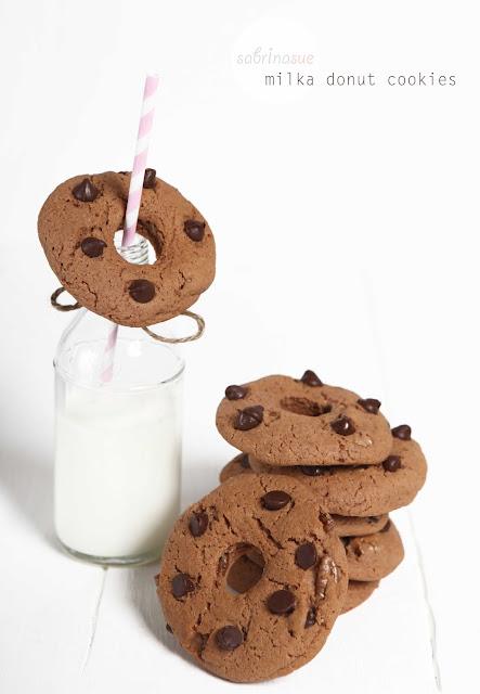 milka donut cookies