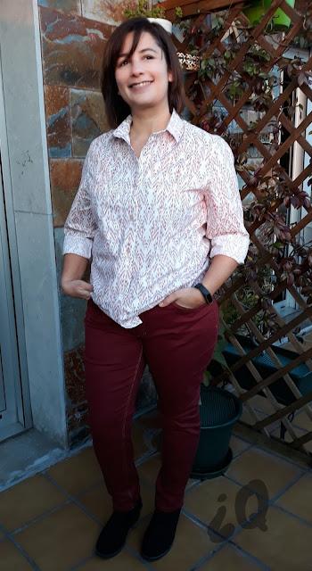 Ginger jean closet case patterns Archer shirt Grainline