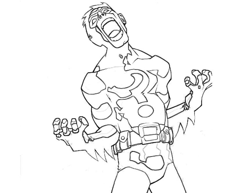 batman riddler coloring pages - photo#25