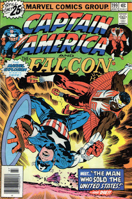 Captain America and the Falcon #199