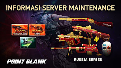 Maintenance Point Blank PB Garena Indonesia