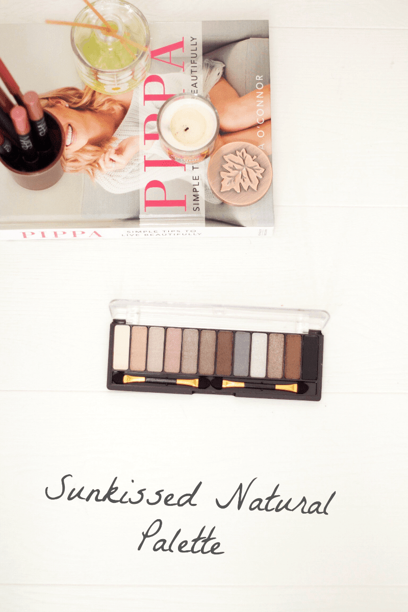 Sunkissed Natural Eyeshadow Palette Review
